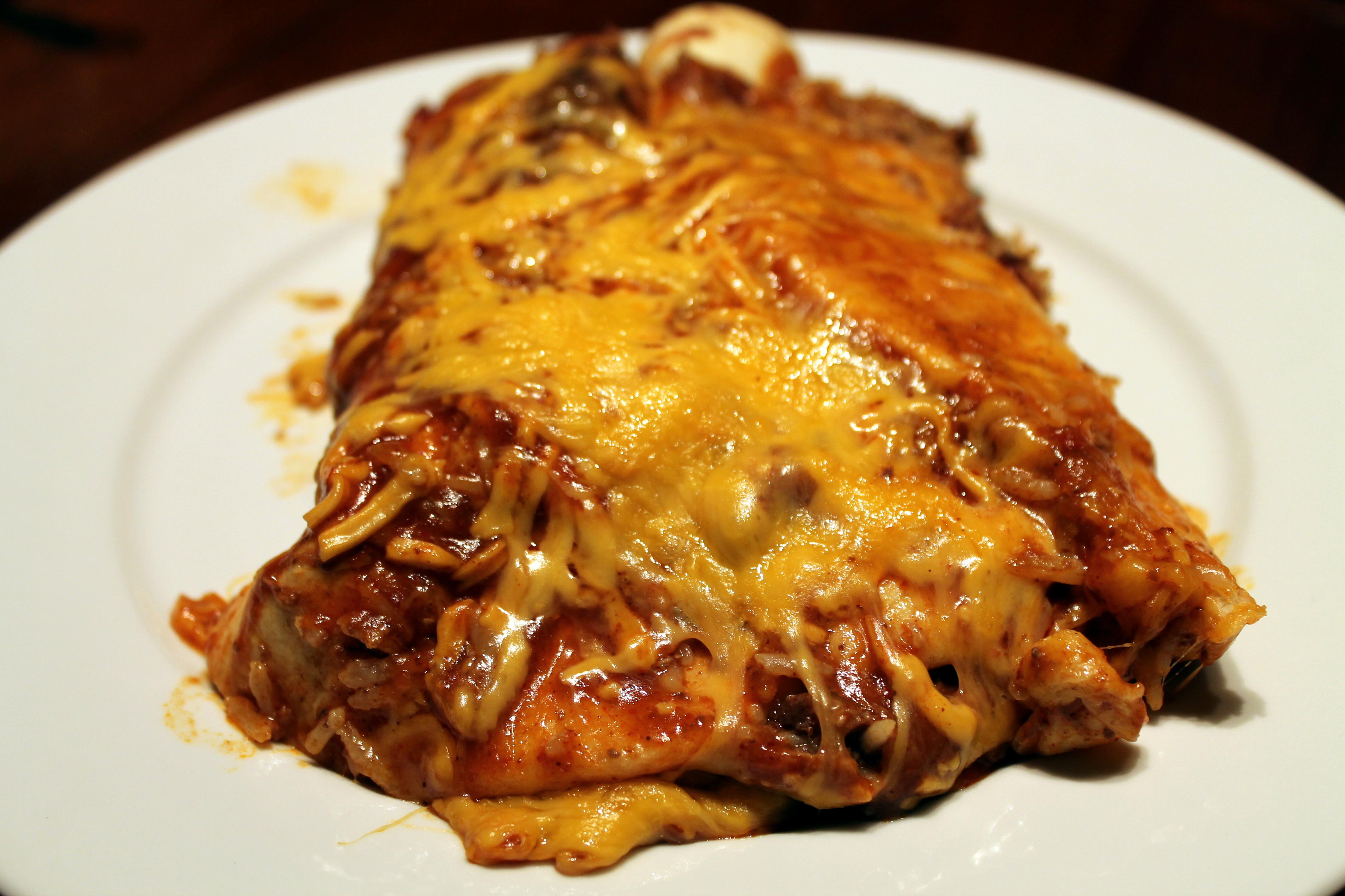 Holy Moly Chicken Mole Enchiladas | CSA for Three