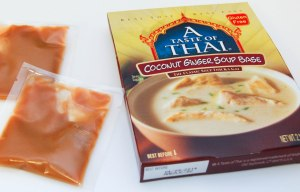 Tom Kha paste masquerading as coconut ginger soup base