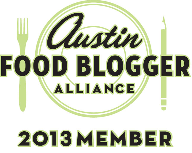 Austin Food Blogger Alliance Member 2013